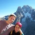 Christelle et Rom, des amoureux amoureux de la montagne!!!