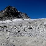 Voilà... plus vraiment de glacier à traverser. Même, plus du tout !
