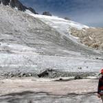 Sur le chemin direction le refuge d'Argentière