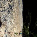 Le rocher est au top et la ligne majeure!!