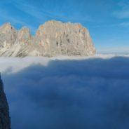 Deuxième tour de Sella: Voie Messner