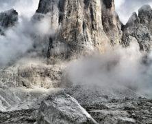 Cima Canali: fissure Buhl